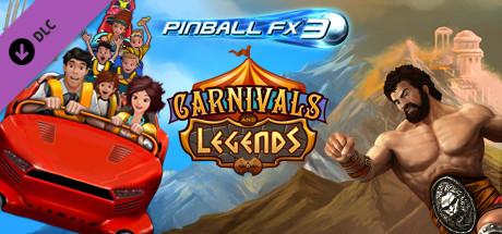 Pinball FX3 - Free Carnivals and Legends DLC | FREE STEAM KEYS