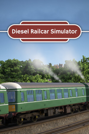 Diesel Railcar Simulator poster image on Steam Backlog