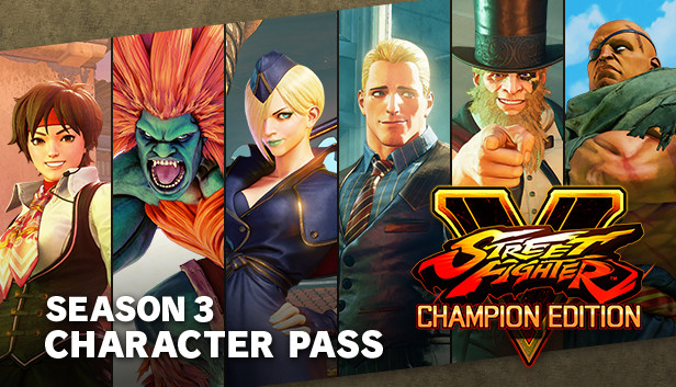 Street Fighter V Season 3 Character Pass On Steam