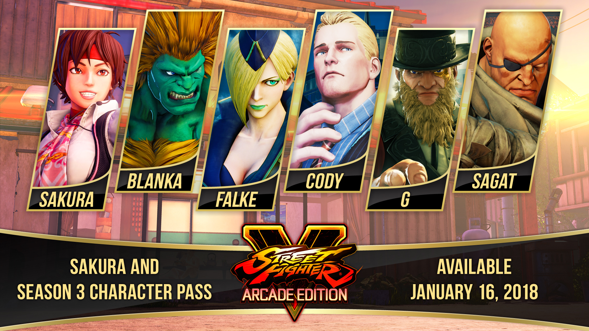 Street Fighter V Season 3 Character Pass On Steam