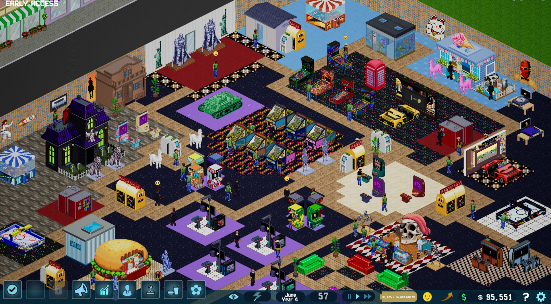 Find the best gaming PC for Arcade Tycoon