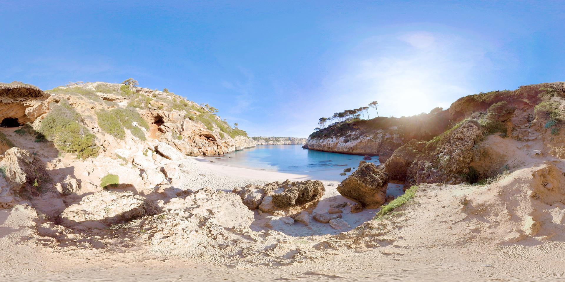 Dream Beach - Mallorca | Sphaeres VR Experience | 360° Video | 8K/2D