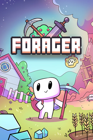 Forager poster image on Steam Backlog