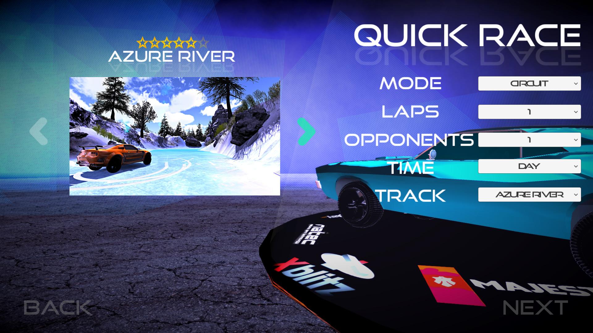 économisez 75 Sur Frozen Drift Race Restocked Sur Steam