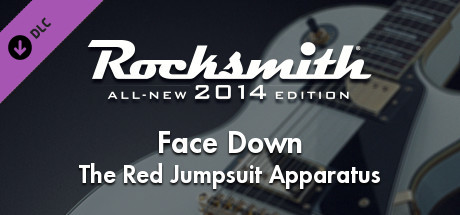 "Rocksmith® 2014 Edition – Remastered – The Red Jumpsuit Apparatus - ""Face Down"""