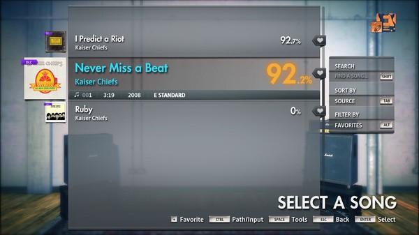 "Скриншот №3 к Rocksmith® 2014 Edition – Remastered – Kaiser Chiefs - ""Never Miss a Beat"""