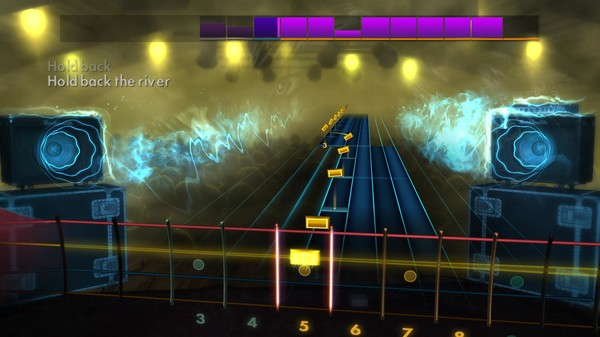 "Скриншот №4 к Rocksmith® 2014 Edition – Remastered – James Bay - ""Hold Back the River"""