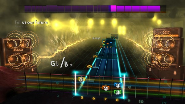 "Скриншот №2 к Rocksmith® 2014 Edition – Remastered – Dethklok - ""Black Fire Upon Us"""