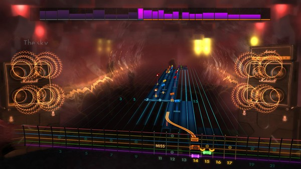 "Скриншот №1 к Rocksmith® 2014 Edition – Remastered – Dethklok - ""Black Fire Upon Us"""