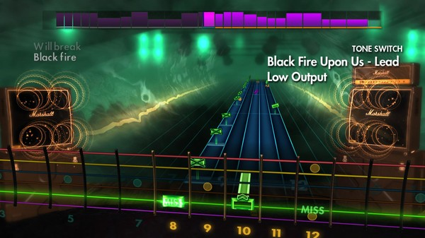 "Скриншот №5 к Rocksmith® 2014 Edition – Remastered – Dethklok - ""Black Fire Upon Us"""
