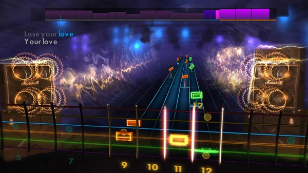 """Скриншот №5 к Rocksmith® 2014 Edition – Remastered – The Outfield - """"Your Love"""""""