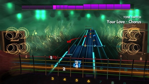 """Скриншот №1 к Rocksmith® 2014 Edition – Remastered – The Outfield - """"Your Love"""""""
