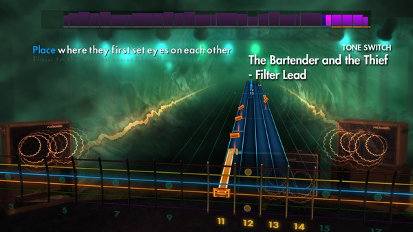 """Скриншот №3 к Rocksmith® 2014 Edition – Remastered – Stereophonics - """"The Bartender and the Thief"""""""