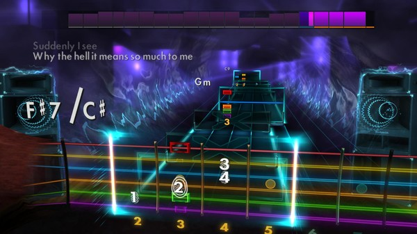 Скриншот №5 к Rocksmith® 2014 Edition – Remastered – KT Tunstall Song Pack