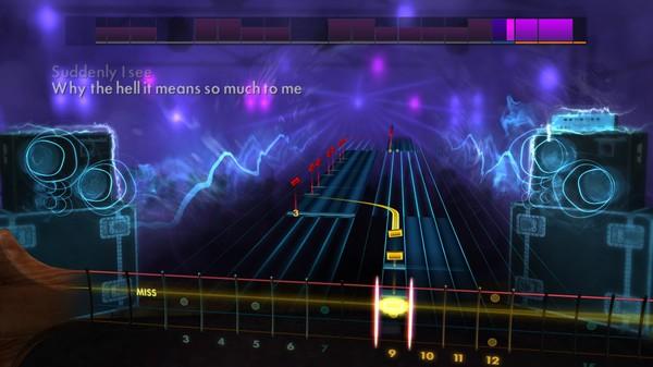 Скриншот №4 к Rocksmith® 2014 Edition – Remastered – KT Tunstall Song Pack