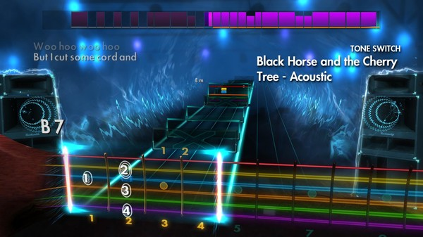 "Скриншот №2 к Rocksmith® 2014 Edition – Remastered – KT Tunstall - ""Black Horse and the Cherry Tree"""