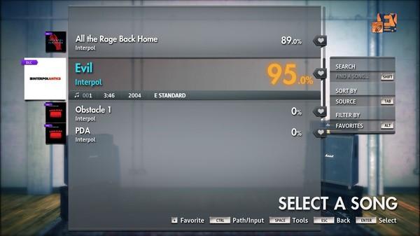 "Скриншот №3 к Rocksmith® 2014 Edition – Remastered – Interpol - ""Evil"""