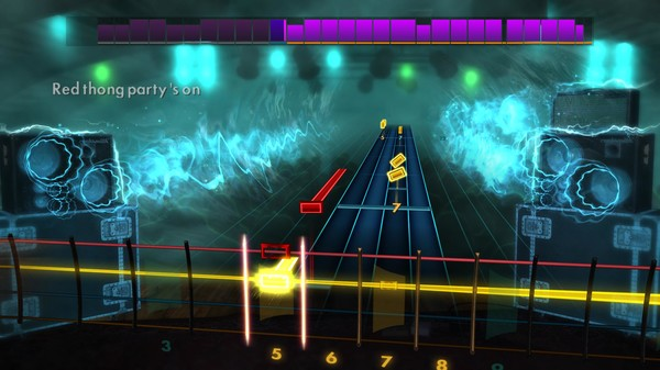 "Скриншот №3 к Rocksmith® 2014 Edition – Remastered – Theory of a Deadman - ""Bad Girlfriend"""