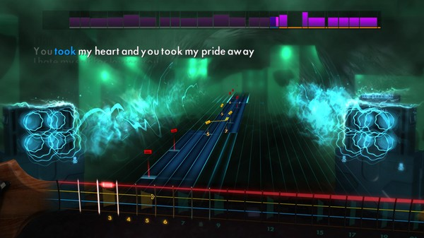 "Скриншот №5 к Rocksmith® 2014 Edition – Remastered – Joan Jett  the Blackhearts - ""I Hate Myself For Loving You"""