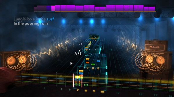 "Скриншот №1 к Rocksmith® 2014 Edition – Remastered – Steve Miller Band - ""Jungle Love"""