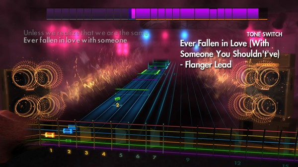 """Скриншот №4 к Rocksmith® 2014 Edition – Remastered – Buzzcocks - """"Ever Fallen in Love With Someone You Shouldntve"""""""