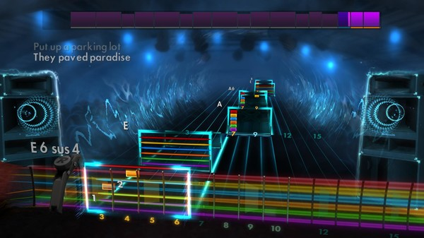 "Скриншот №4 к Rocksmith® 2014 Edition – Remastered – Joni Mitchell - ""Big Yellow Taxi"""