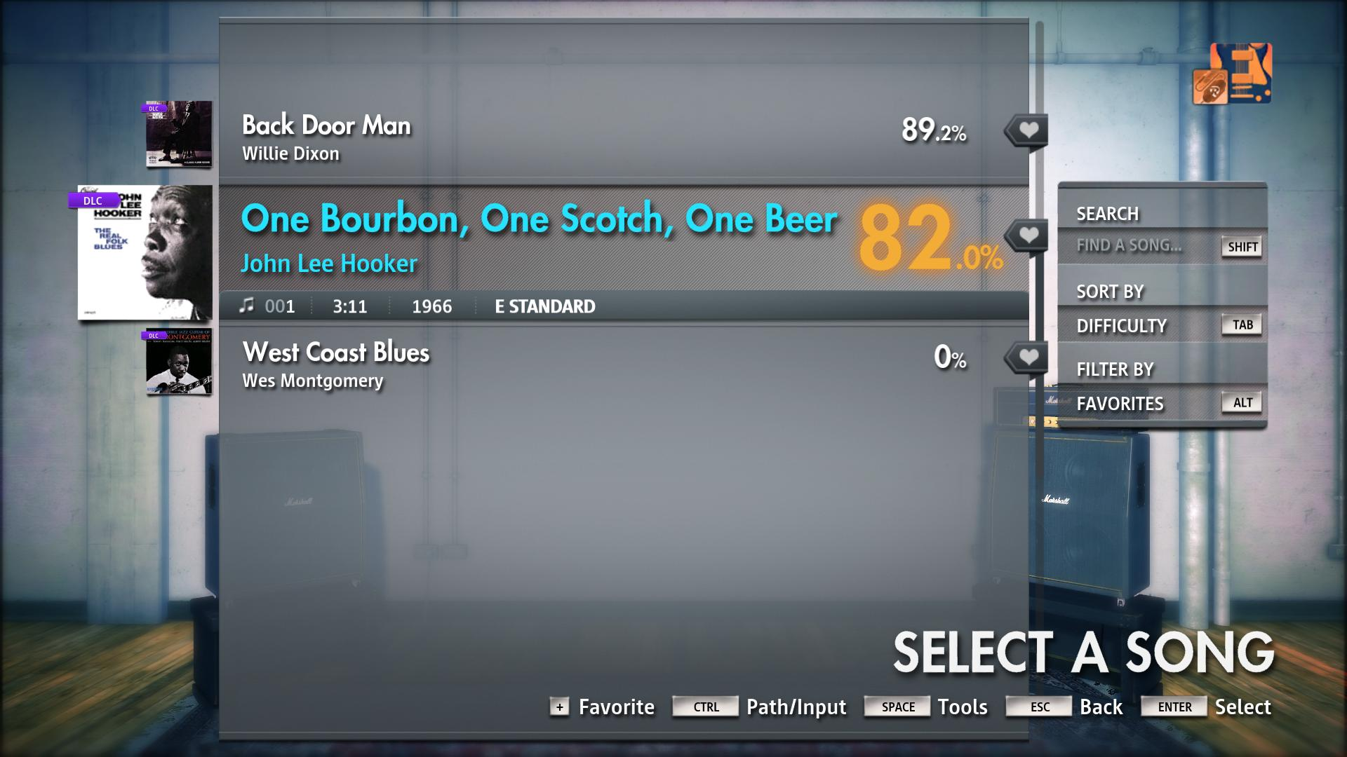 "Rocksmith® 2014 Edition – Remastered – John Lee Hooker - ""One Bourbon, One  Scotch, One Beer"""