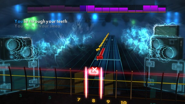 "Скриншот №4 к Rocksmith® 2014 Edition – Remastered – Silverstein - ""Smile in Your Sleep"""