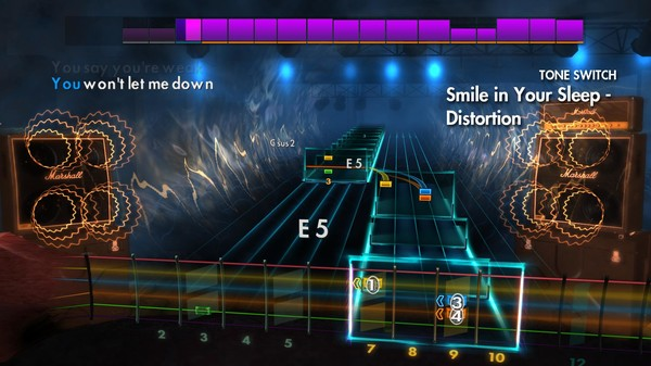 "Скриншот №2 к Rocksmith® 2014 Edition – Remastered – Silverstein - ""Smile in Your Sleep"""