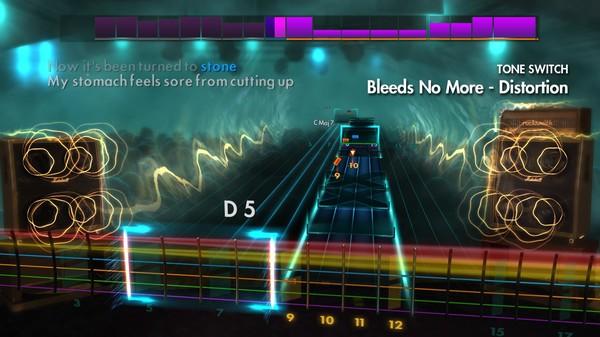 """Скриншот №3 к Rocksmith® 2014 Edition – Remastered – Silverstein - """"Bleeds No More"""""""