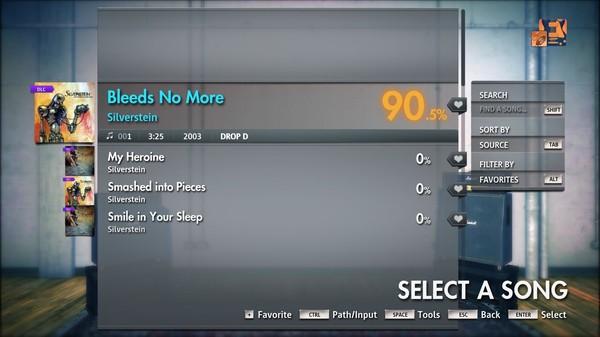 """Скриншот №1 к Rocksmith® 2014 Edition – Remastered – Silverstein - """"Bleeds No More"""""""
