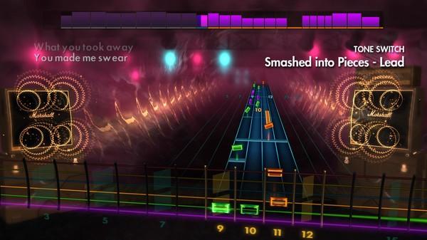 "Скриншот №5 к Rocksmith® 2014 Edition – Remastered – Silverstein - ""Smashed into Pieces"""