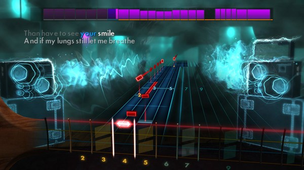 "Скриншот №2 к Rocksmith® 2014 Edition – Remastered – Silverstein - ""Smashed into Pieces"""