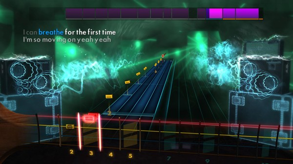 "Скриншот №5 к Rocksmith® 2014 Edition – Remastered – Kelly Clarkson - ""Since U Been Gone"""