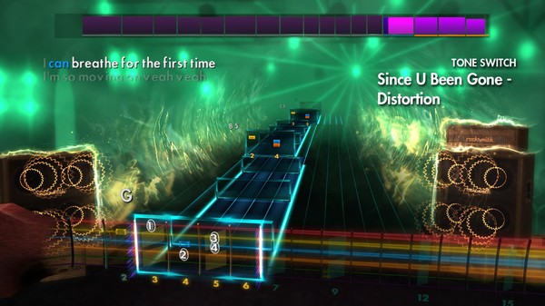 "Скриншот №3 к Rocksmith® 2014 Edition – Remastered – Kelly Clarkson - ""Since U Been Gone"""