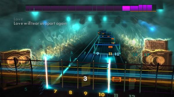Скриншот №2 к Rocksmith® 2014 Edition – Remastered – Joy Division Song Pack