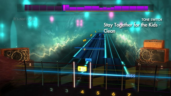 "Скриншот №3 к Rocksmith® 2014 Edition – Remastered – blink-182 - ""Stay Together for the Kids"""