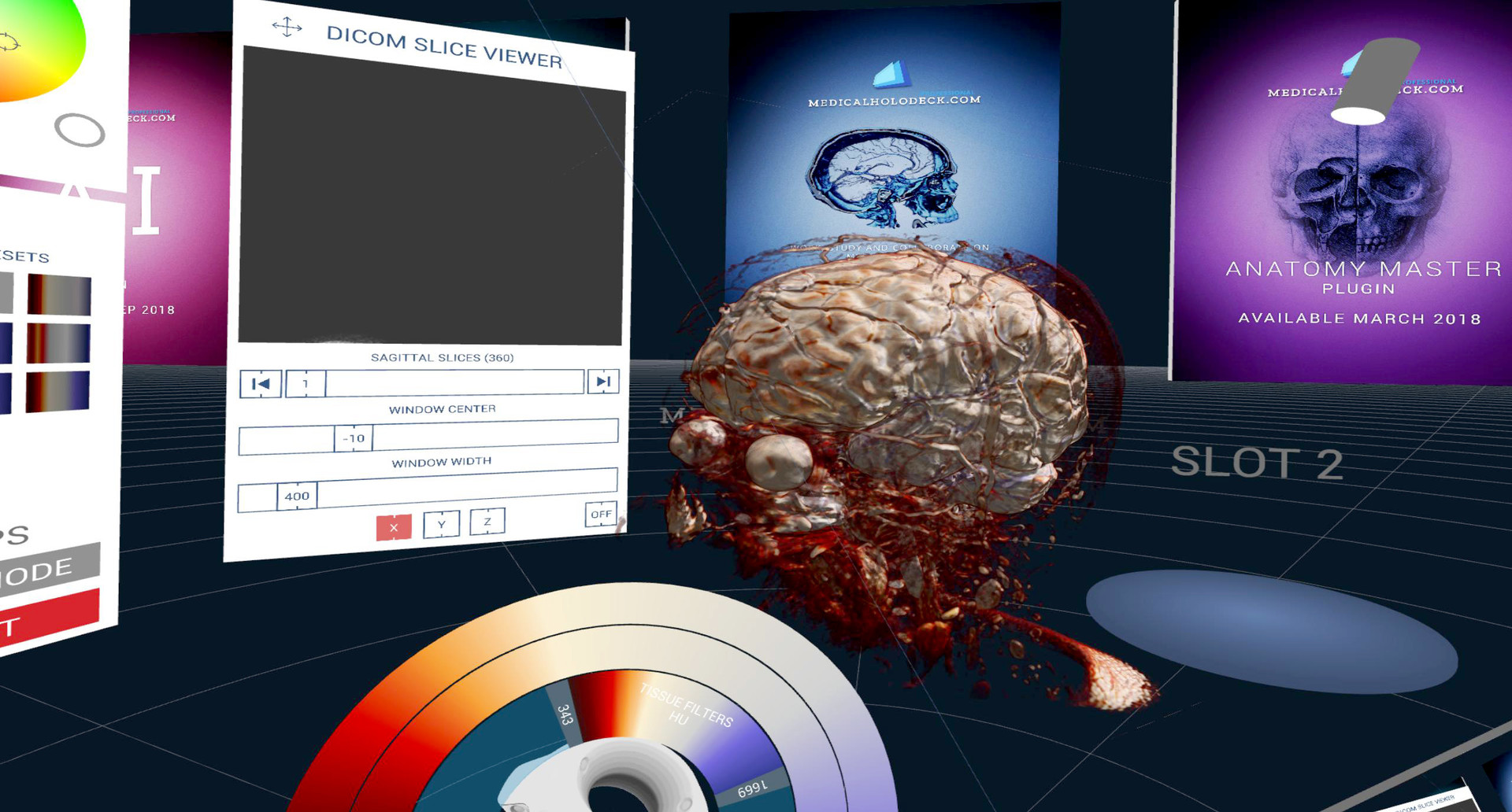 DICOM Viewer for Human Anatomy in Virtual Reality (VR ...