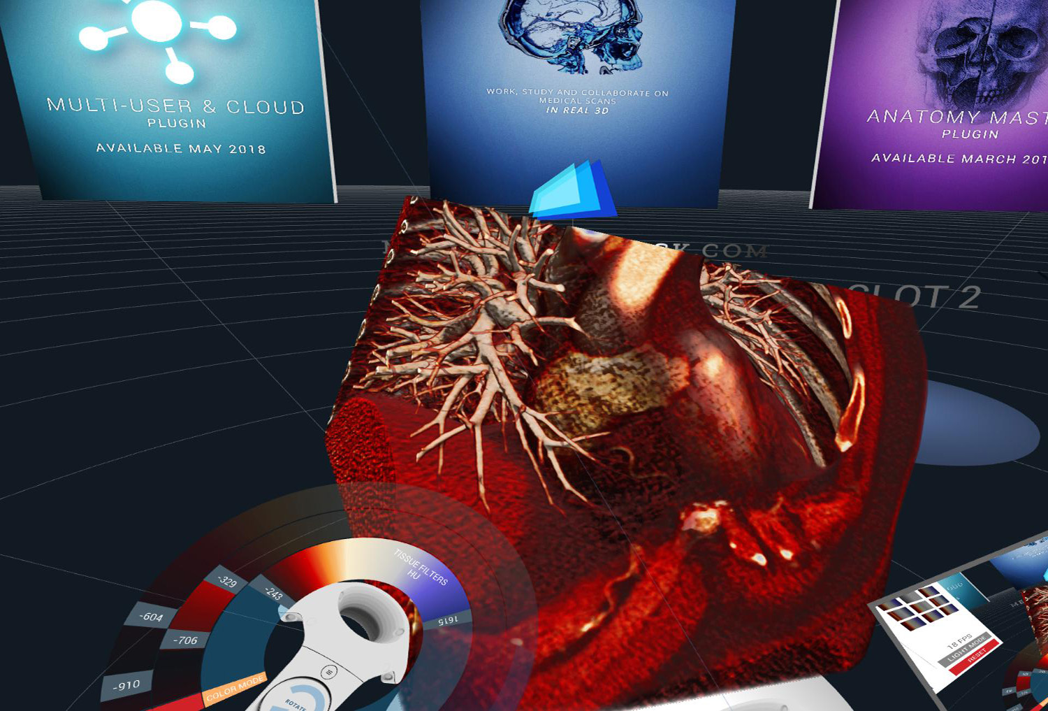 Dicom Viewer For Human Anatomy In Virtual Reality Vr