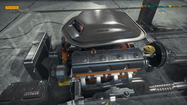 Capture d'écran n°2 du Jeu Car Mechanic Simulator 2018 - Plymouth DLC