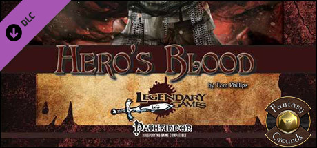 Fantasy Grounds - Hero's Blood (PFRPG)