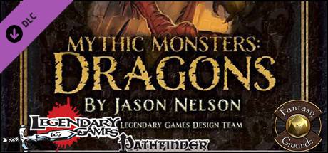 Fantasy Grounds - Mythic Monsters #13: Dragons (PFRPG)