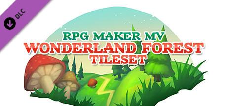 RPG Maker MV - Wonderland Forest Tileset