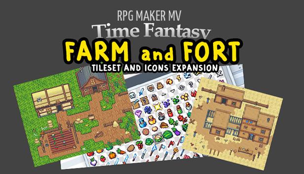 RPG Maker MV - Time Fantasy: Farm and Fort - Info