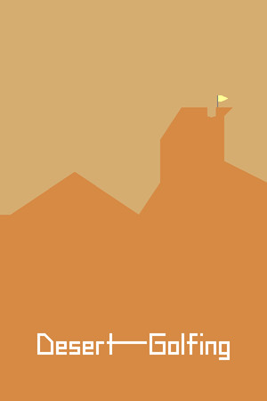 Desert Golfing poster image on Steam Backlog