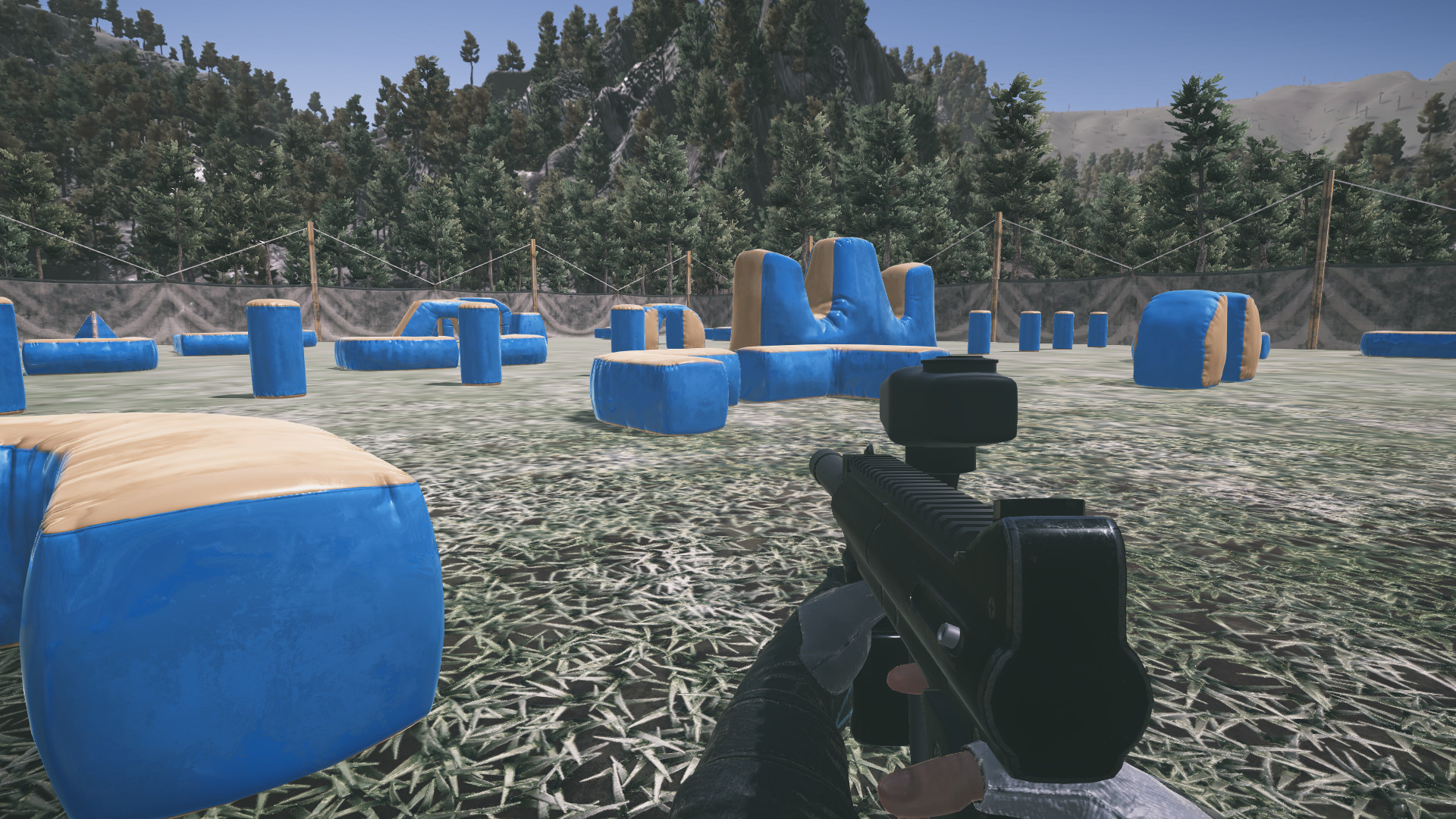 Paintball wars | play the game for free on pacogames.