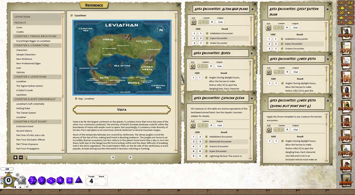 Fantasy Grounds - The Last Parsec: Leviathan (Savage Worlds)