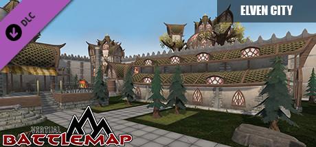 Virtual Battlemap DLC - Elven City