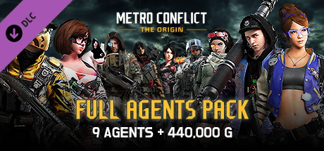 Metro Conflict: The Origin - FULL AGENTS PACK