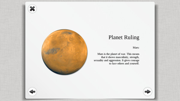 Скриншот из Astrology and Horoscope Premium